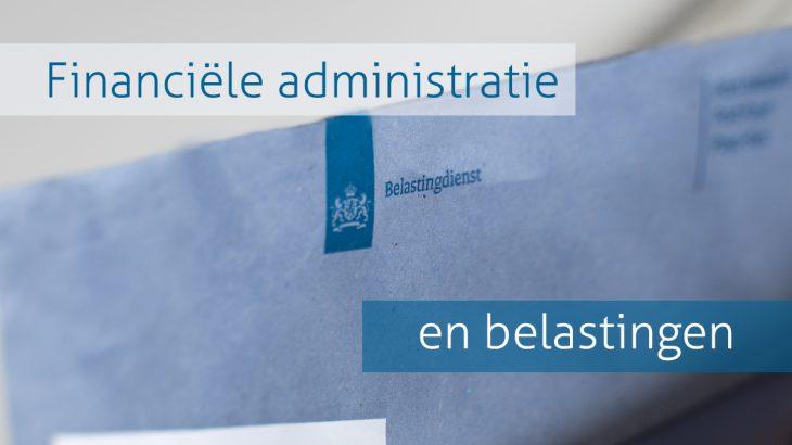 Financiële administratie en belastingen